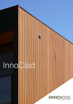Symonite is a certified supplier & installer of INNOWOOD® cladding & panels, NZ wide. Check out our vast range of INNOWOOD system designs — Contact us › Exterior Wall Cladding, House Cladding, Timber Cladding, Cladding Panels, House Siding, Garage Exterior, Exterior House Colors, Exterior Design, Composite Cladding