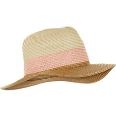 Accessorize Colour Block Braid Fedora Hat ($33) ❤ liked on Polyvore featuring accessories, hats, straw fedora, fedora hat, stripe hat, striped fedora and woven straw hat