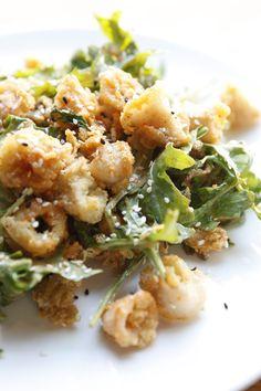 Spicy Crispy Calamari #food #calamari #spicy