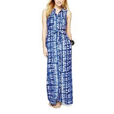 South | Maxi Shirt Dress | Print by Weekday Wonders on Brands Exclusive