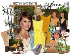 """Jennifer Love Hewitt as Jane from Tarzan"" by agust20 on Polyvore"
