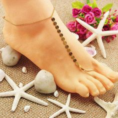Anklets Supply Braided Cowrie Seashell Anklet Pink Good Heat Preservation Fashion Jewelry