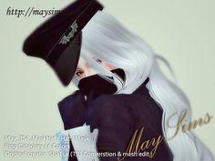 Mask + Hat at May Sims