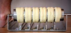 www.kurtos-kalacs.com You now have 6 individual rings. Kurtos Kalacs, Kürtőskalács, Chimney Cake, Trdelnik, Baumstriezel, Horn Cake, Székely Cake, Hungarian Twister, Куртош калач, Kurtosh, Cozonac Secuiesc
