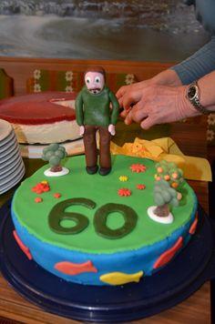 Birthday Cake for my Grandpa March 2014, Birthday Cake, Cakes, Baking, Desserts, Food, Pies, Bread Making, Birthday Cakes