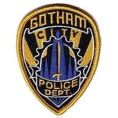 "Batman - Gotham City Police Badge 3.5"" Patch"