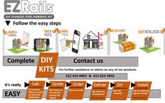 Assemble your affordable balustrade post kit your-self Save Time & Money in the process. Stainless Steel Handrail, Level 3, Save Yourself, Hand Tools, Welding, Range, Free, Stainless Steel Railing, Soldering