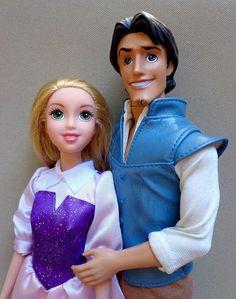 Barbie PAL Disney Princess Rapunzel Tangled Movie Flynn Rider Doll Clothes Shoes | eBay