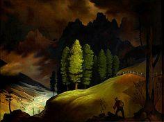 Bavarian Landscape by Franz Sedlacek