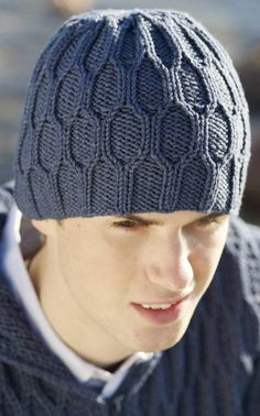 knit hat man