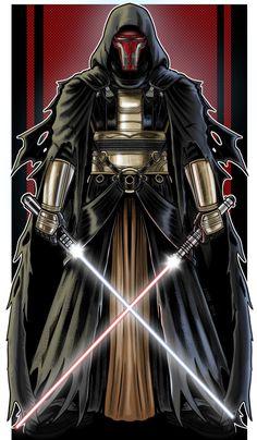 Darth Revan Created by Terry Huddleston