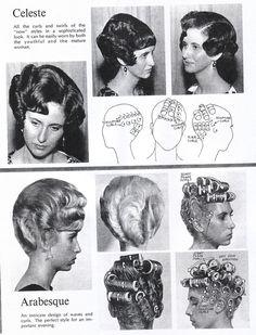 1960s Hair, Wet Set, Hollywood Hair, Vintage Hairstyles, Hair Beauty, 60s Hair, Vintage Haircuts, Vintage Hair