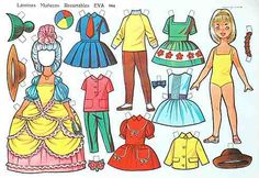 A little paper doll from Spain w/ historic costume All Paper, Paper Art, Wooden Clothespins, Clothespin Dolls, Vintage Paper Dolls, Free Graphics, Little Doll, Sweet Memories, Print And Cut