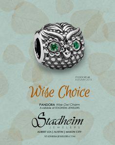 Wise Owl Charm - Autumn 2013 - PANDORA