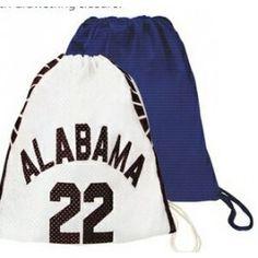 Jersey Drawstring Bag