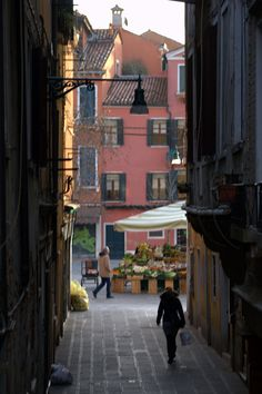 Campo Santa Margherita  Venice  Italy