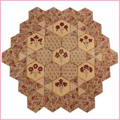 English Paper Pieced Hexagon Quilts - Bing Images