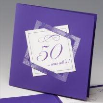 Karte Zum 50 Geburtstag Selber Basteln Dansenfeesten