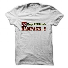 dota2 mega kill streak rampage T Shirts, Hoodies. Check price ==►…