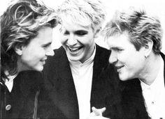 Duran Duran -John Taylor, Nick Rhodes  Simon Le Bon