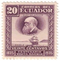 Who's Who on the Stamps of Ecuador: Charles Darwin Issue Ecuador, Charles Darwin, Postage Stamps, History, Poster, Maritime Museum, Museums, Stamps, Life Images
