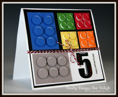 Dawns Designs that Delight: Lego Card