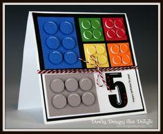Dawns Designs that Delight: Lego Card