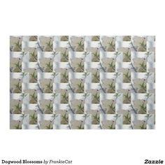 Dogwood Blossoms Fabric