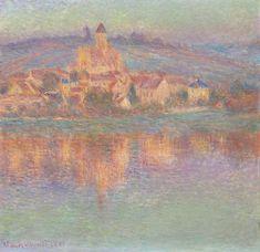 Claude Monet French, 1840-1926, Vétheuil