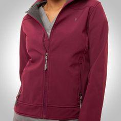 blue sky scrubs - Fuchsia Haddington Soft Shell Jacket, $67.80 (http://www.blueskyscrubs.com/fuchsia-haddington-soft-shell-jacket.html) #scrubjacket #uniform #blueskyscrubs