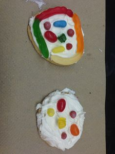 Made edible cells today in my 6th grade science class. Great way to test their knowledge of cell organelles!
