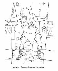samson coloring pages for preschoolers | 53 Best Samson and Delilah images | Sunday school lessons ...