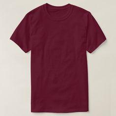 Plain Red T Shirt, Plain Shirts, Red Shirt, Maroon Shirts, Shirt Template, Quality T Shirts, Unisex, Tshirt Colors, Colorful Shirts