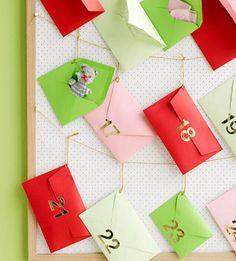Countdown to Christmas: Best Advent Calendars: Advent Envelopes (via Parents.com)