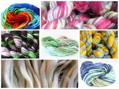 Thick and Thin Wool Yarn