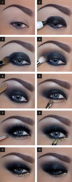+15 Tutoriales de Como Maquillar ojos Ahumados