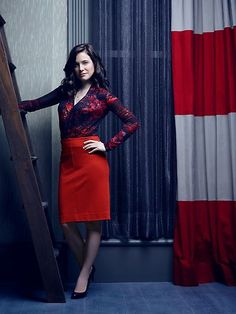 Caroline Dhavernas as Dr. Alana Bloom  #Hannibal premieres Thursday, April 4 on NBC