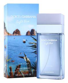 Dolce & Gabbana Light Blue Love in Capri woda toaletowa dla kobiet