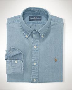 Chambray Sport Shirt