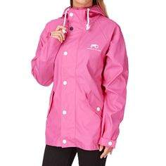 Moods Of Norway Reine Pu Jacket - Pink | Free UK Delivery
