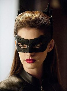 Anne Hathaway as Catwoman!