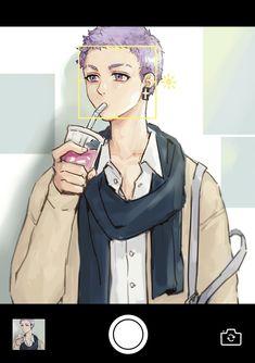 "xiao pa on Twitter: ""🤳… "" Animes Yandere, Fanarts Anime, Anime Characters, Hot Anime Boy, Anime Guys, Otaku Anime, Anime Manga, Panty And Stocking Anime, Tokyo Ravens"