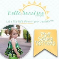 PDF Pattern Testing: The Rebel Girl Party Dress by Bella Sunshine Designs | Candice Ayala