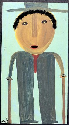 Mose Tolliver, one of the stars of American folk art, in RV 12. http://rawvision.com/shop/raw-vision-12