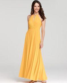 Beautiful, Warm, Yellow Maxi