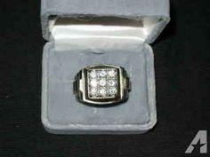 Men's diamond ring - $6000
