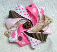 Girl Scout Brownie hair bow hair accessory