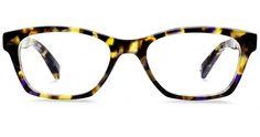 Warby Parker Sims Eyeglasses in Violet Magnolia