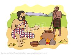 Jacob & Esau - Lamp Bible Pictures