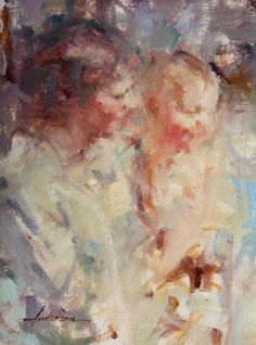 Carolyn Anderson, Figurative, Oil Painting, Mother and Child, Northwest Rendezvous (NWR), Chicago Born,